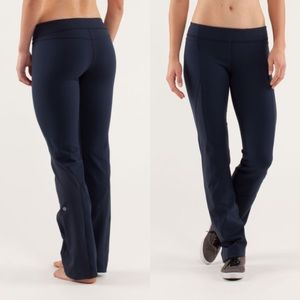 Lululemon Straight To The Studio Pant In Inkwell